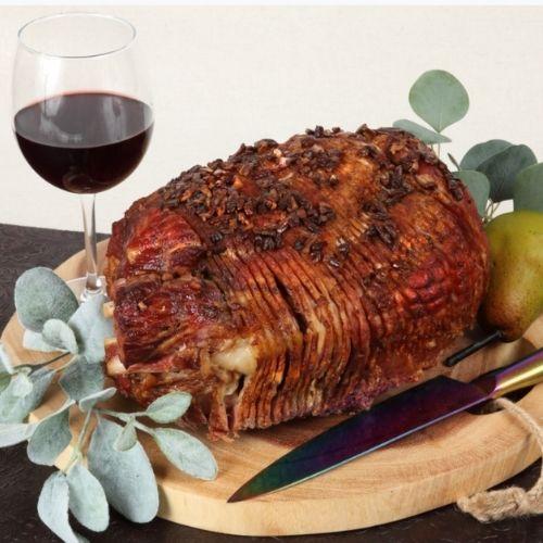 Bourbon Glazed Ham