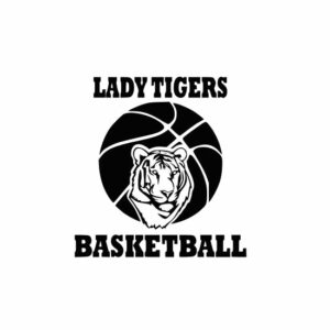 Lady Tigers Basketball svg, Tigers svg, Tigers svg cricut, cutting file, svg, dxf, eps, Cricut Design Space, Cameo Silhouette Studio