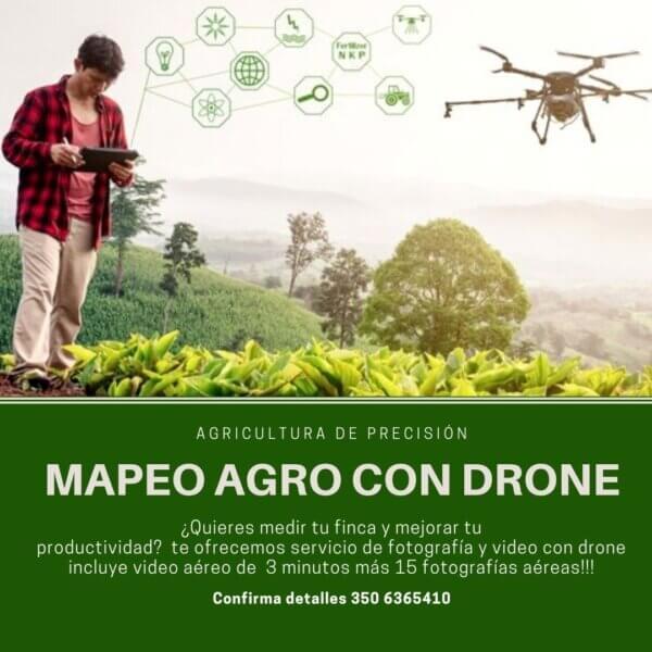 Fotografia y video agro con Drone