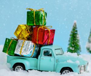 Christmas Truck graphic CC