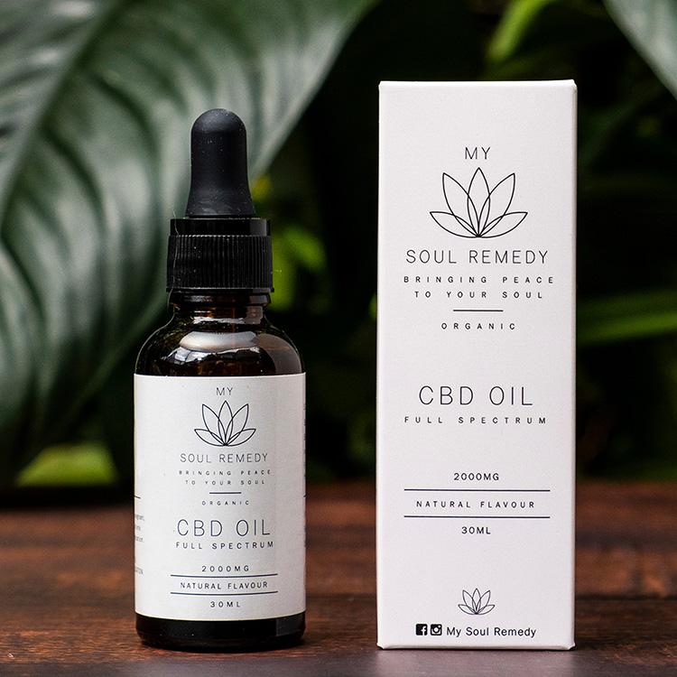 My Soul Remedy CBD Oil Shop THC Free