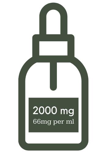 2000mg CBD Oil