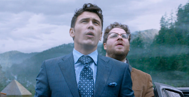 Cobb Theatres is the latest theater chain to crop 'The Interview' (Photo: Sony Pictures)