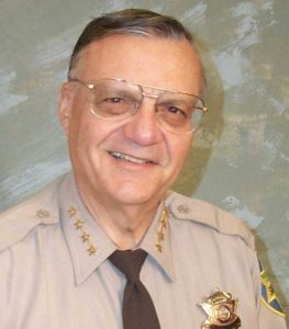 Maricopa County Sheriff Joe Arpaio (Image credit: MCSO)