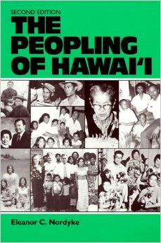 """Eleanor Nordyke's book """"The Peopling of Hawaii"""" was published for the East-West Population Institute by the University of Hawaii Press. (Image credit: Amazon.com)"""