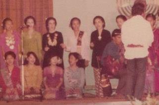Close up: Subud Jakarta group photo, circa early 1970s
