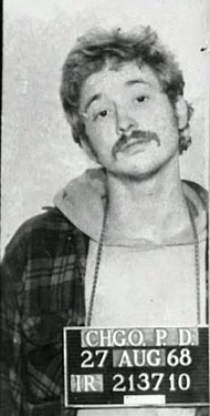 Communist revolutionary and terrorist domestic bomber Bill Ayers was a UIC professor. (Image credit: Chicago PD)
