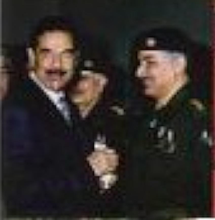Iraqi Deputy Defense Minister Dr. Jafar Dhia Jafar, senior adviser to President Saddam Hussein and the mastermind behind Saddam's nuclear 'Arab bomb'
