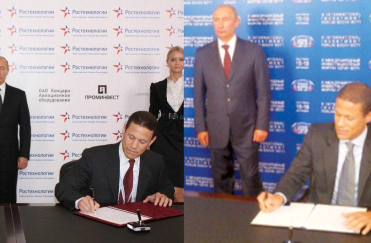 Vladimir Putin Badr Jafar GULFTAINER Russian deals