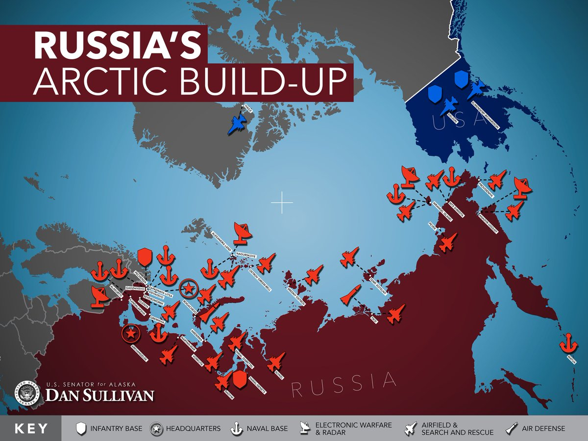 Russia's Arctic Buildup near Alaska (Source: Office of Senator Dan Sullivan)