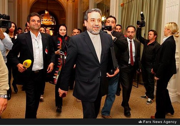 SWITZERLAND - 2015 - NIAC co-founder Trita Parsi meeting with senior Iranian regime officials during negotiations for President Obama's Iran nuclear deal