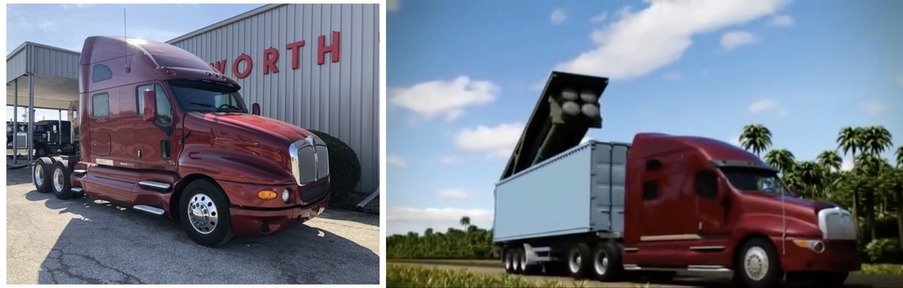 Kenworth T2000 Club-K Container Missile System