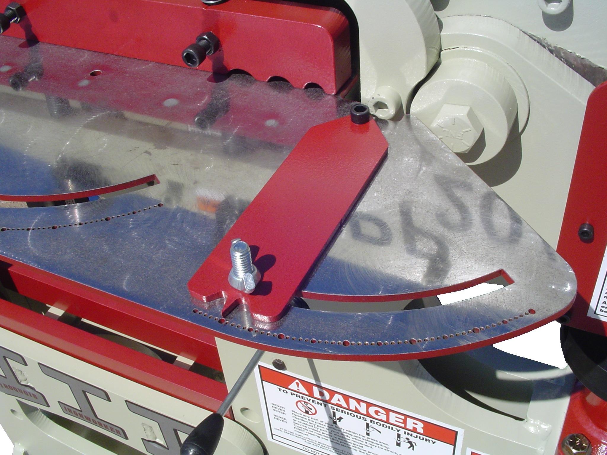 spp20/50 custom ironworker