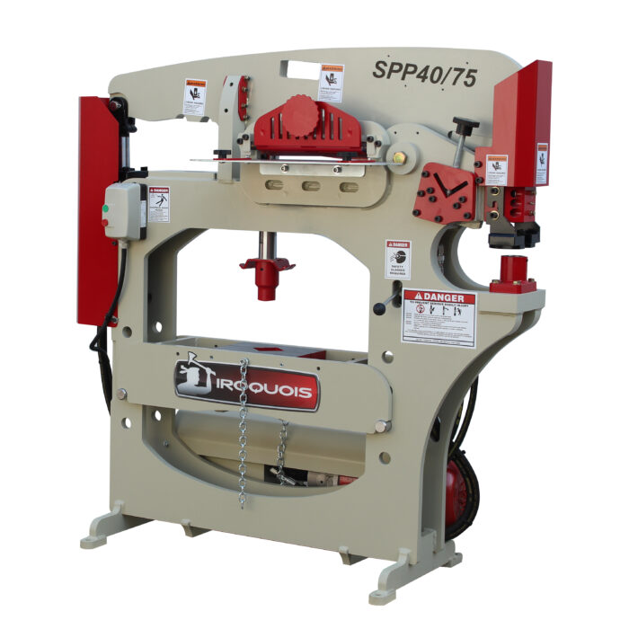 SPP40/75 Ironworker