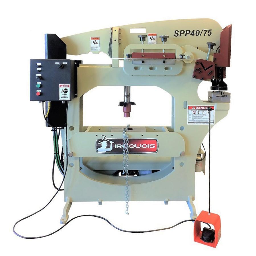 spp4075 custom ironworker