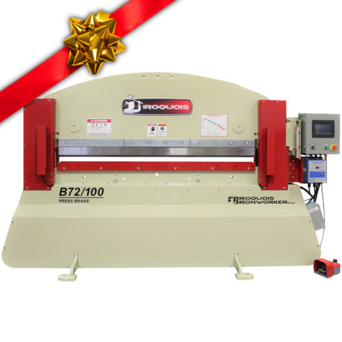 b72/100 press brake package