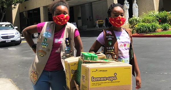 Black Sisters Make History Selling Girl Scout Cookies