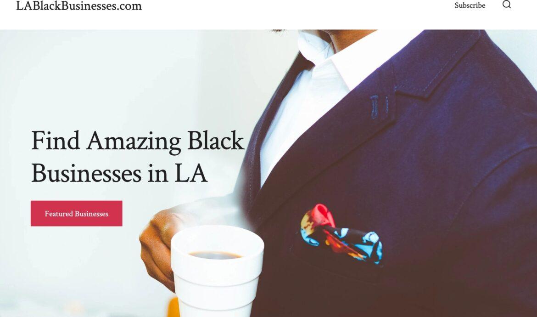 Directory of LA Black-Owned Restaurants