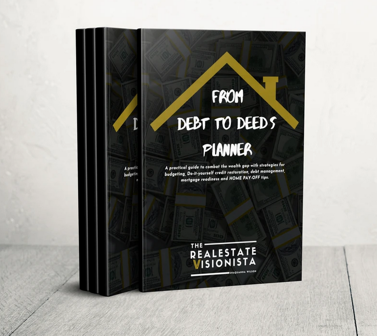 New Book Release From Debt to Deeds Planner, A Must Read