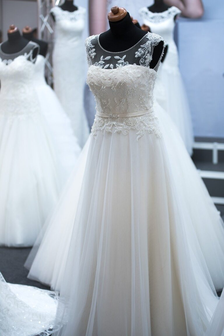 salon of wedding dresses, bride, wedding