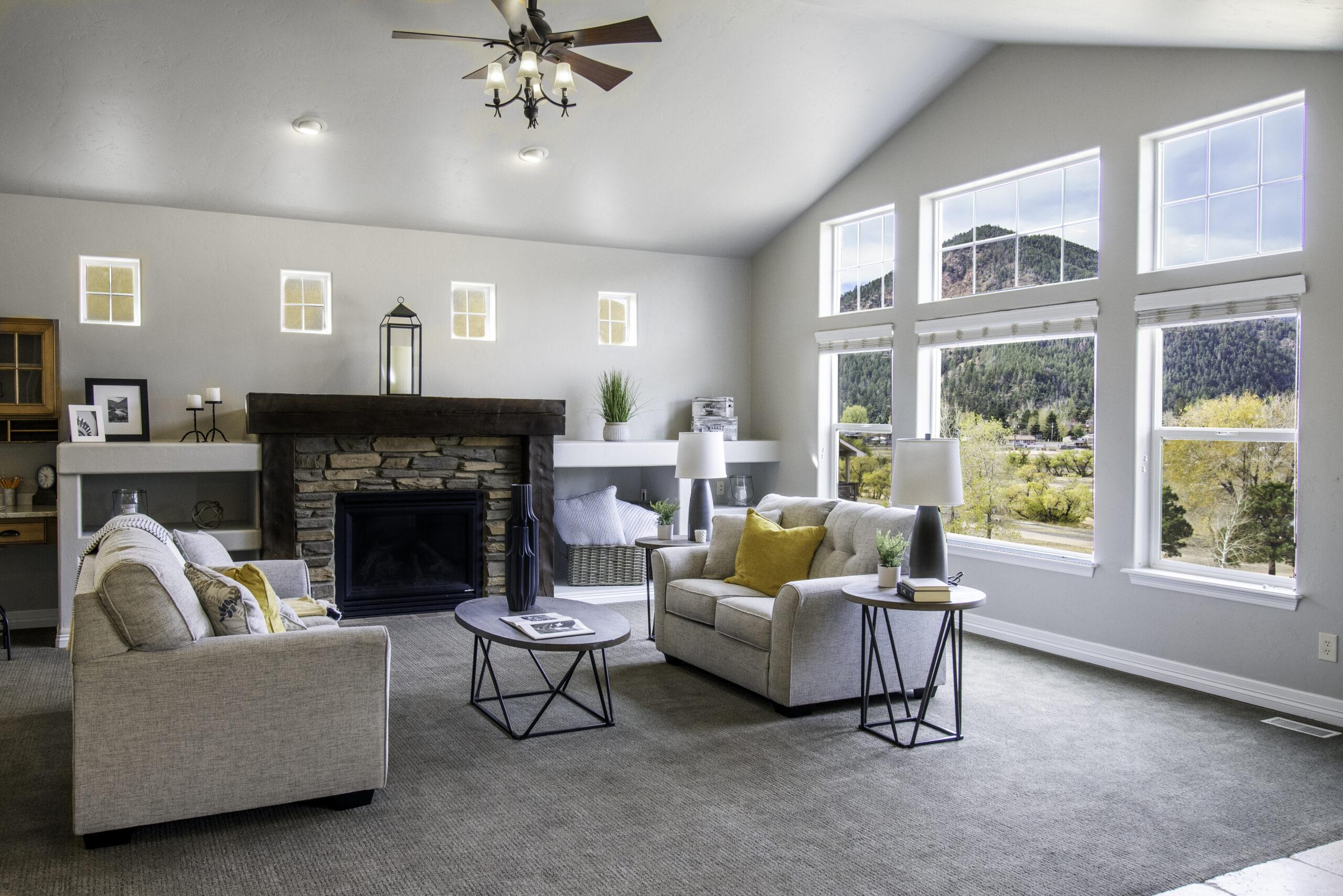 Living room interior photography Falcon