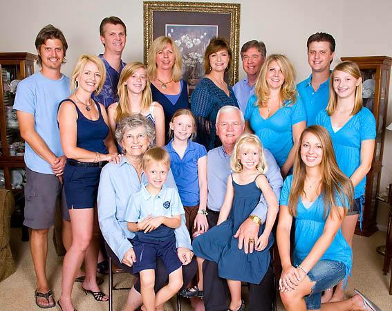 Family photo Colorado Springs