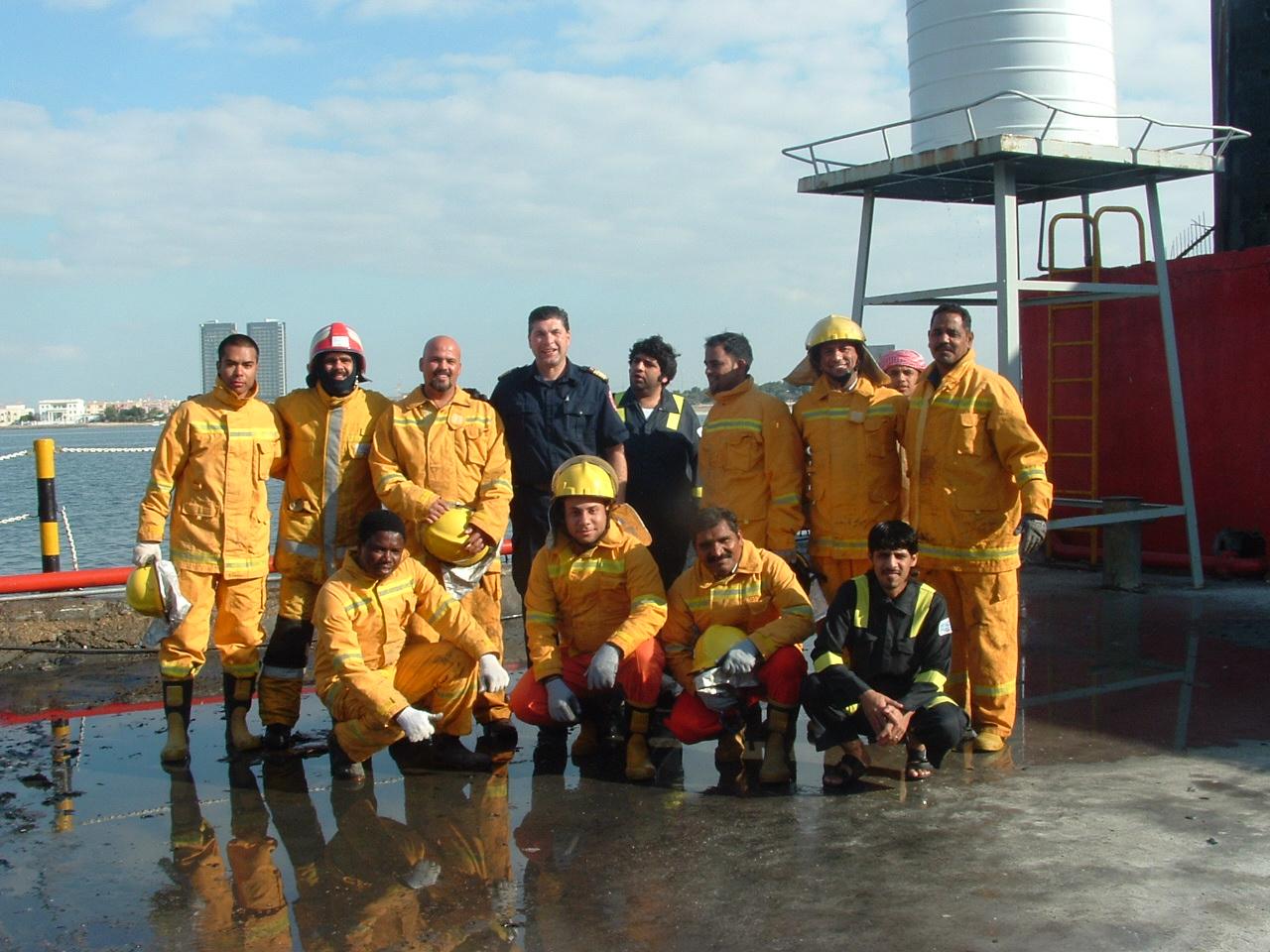 Firewise Delivers Training in Abu Dhabi, UnitedArabEmirates