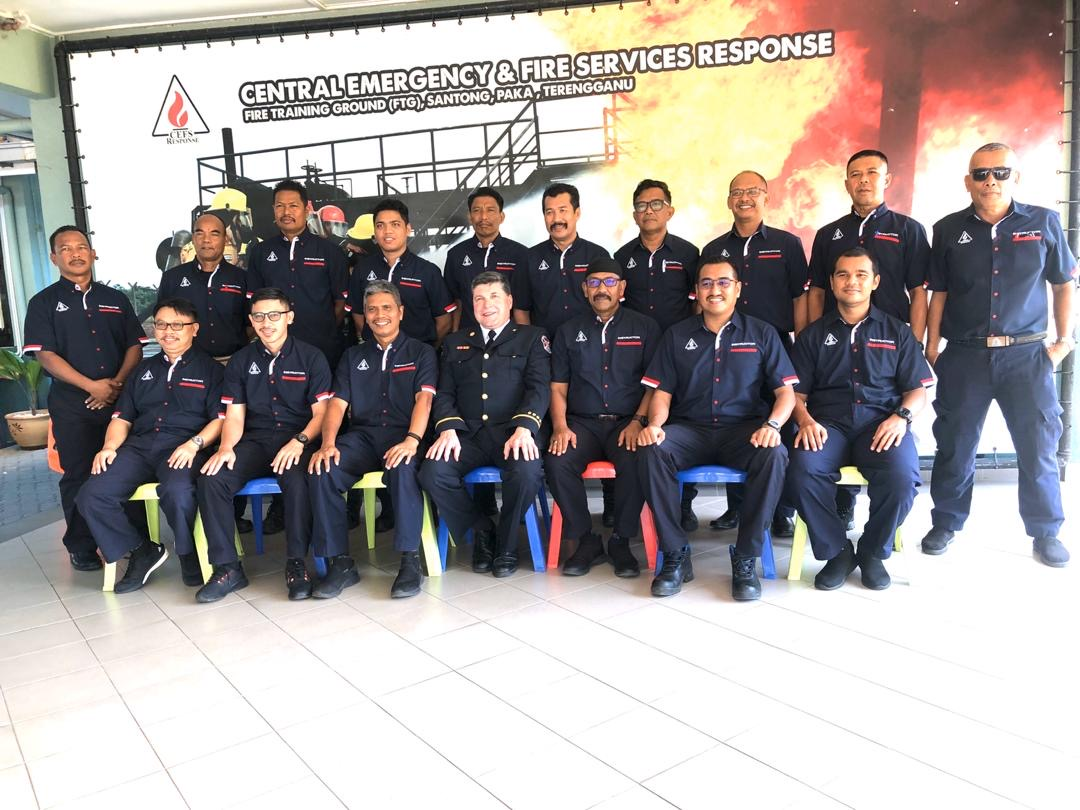 Fire Instructor NFPA 1041 Training February 2020 for Petronas in Malaysia