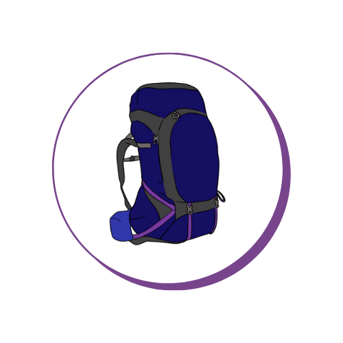 Travel Backpack - LMS Leadership