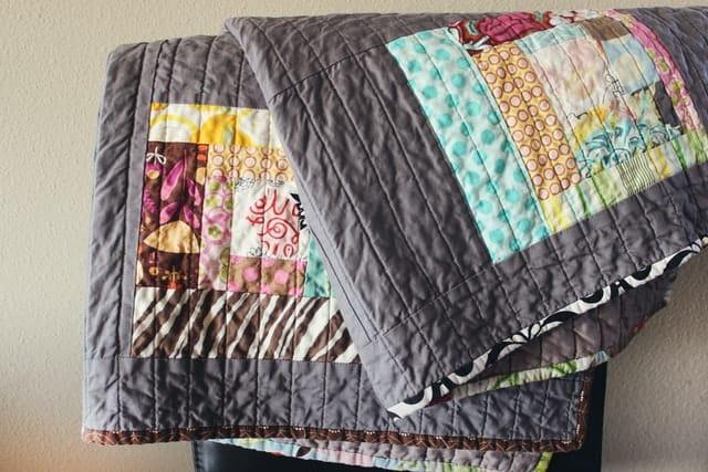 folded heated throw blanket
