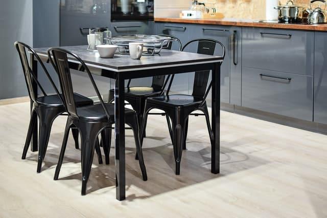 5-piece black dining room set