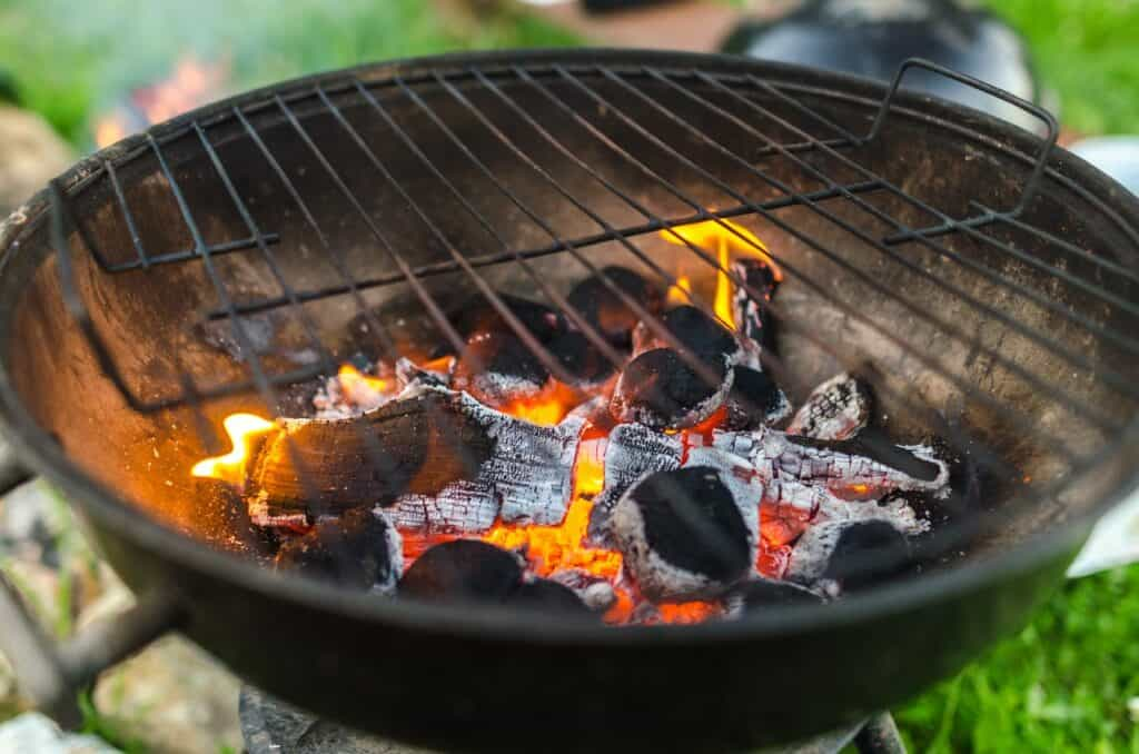 ready-to-use charcoal grill