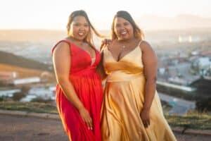 women wearing plus size summer dresses