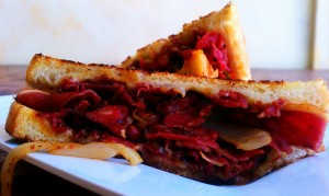Grilled-Pastrami-Sandwich