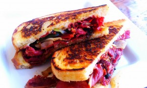 Pastrami-Melt-with-Grilled-Pickles