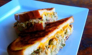 Tuna-Melt-on-Fresh-Bread
