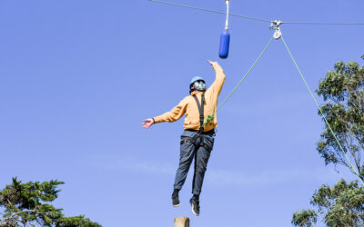 We Tried Outward Bound's Ropes Course in San Francisco. And Now We Believe We Can Fly.