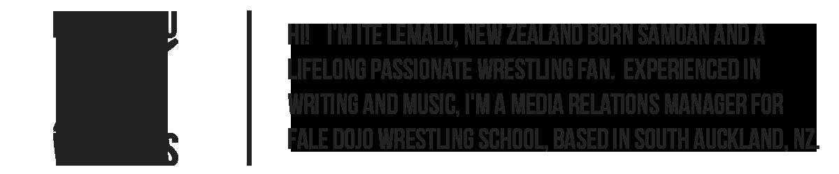 Ite Lemalu Writings