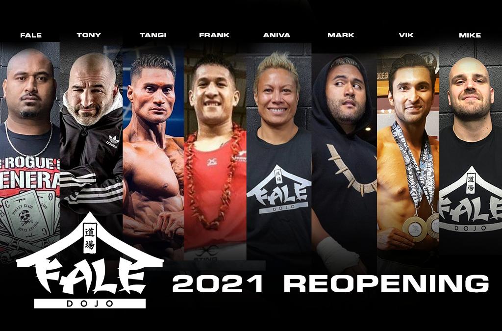 Fale Dojo 2021 Reopening