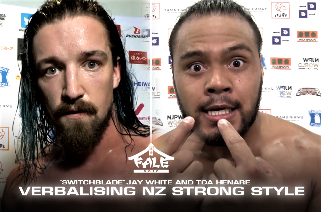 """""""Switchblade"""" Jay White and Toa Henare – Verbalising NZ Strong Style"""