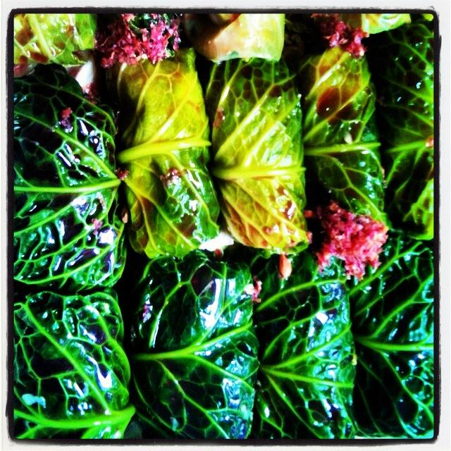 Lebanese Cabbage Wraps