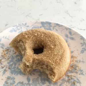 Maple-Apple Cake Donuts