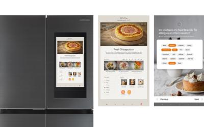 Este refrigerador Samsung te sugiere recetas de cocina, planea tu dieta y hasta hace las compras del supermercado