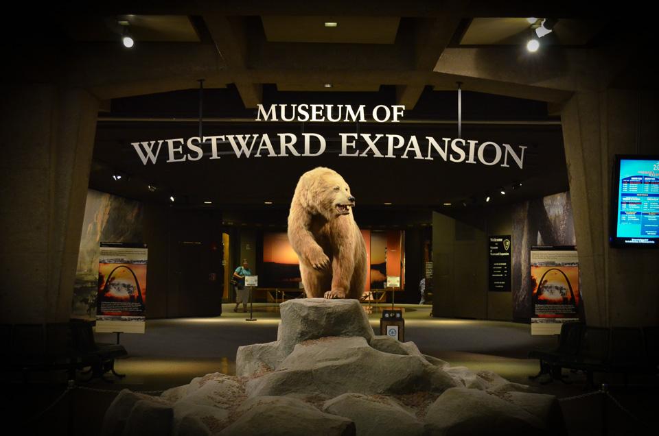 Museum of Westward Expansion, St. Louis.