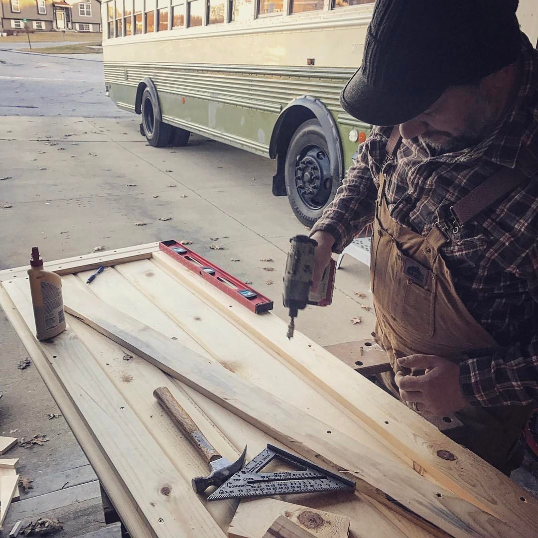 Building the door – OWF