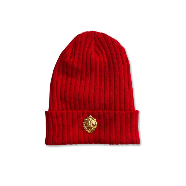 GarrCee Collection Royalty Beanies Red