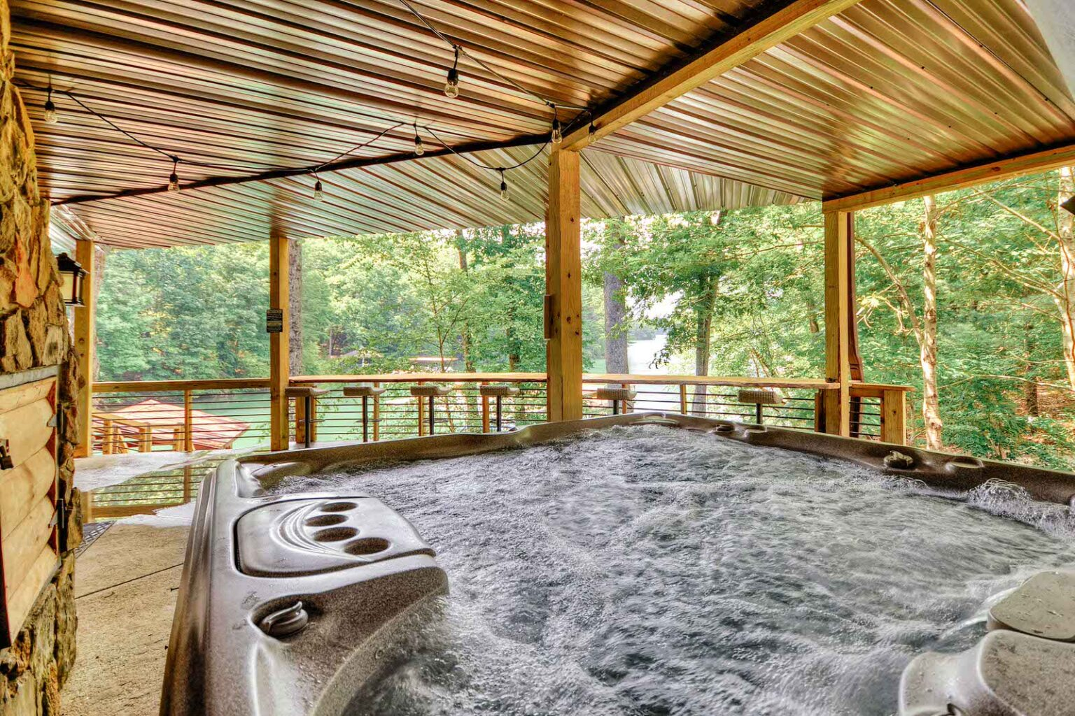 dock holiday hot tub