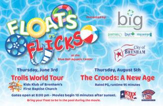 City of Brenham's – Floats n' Flicks