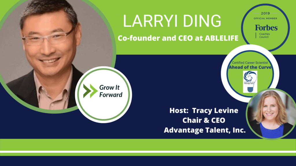 Grow it Forward Podcast with Larryi Ding