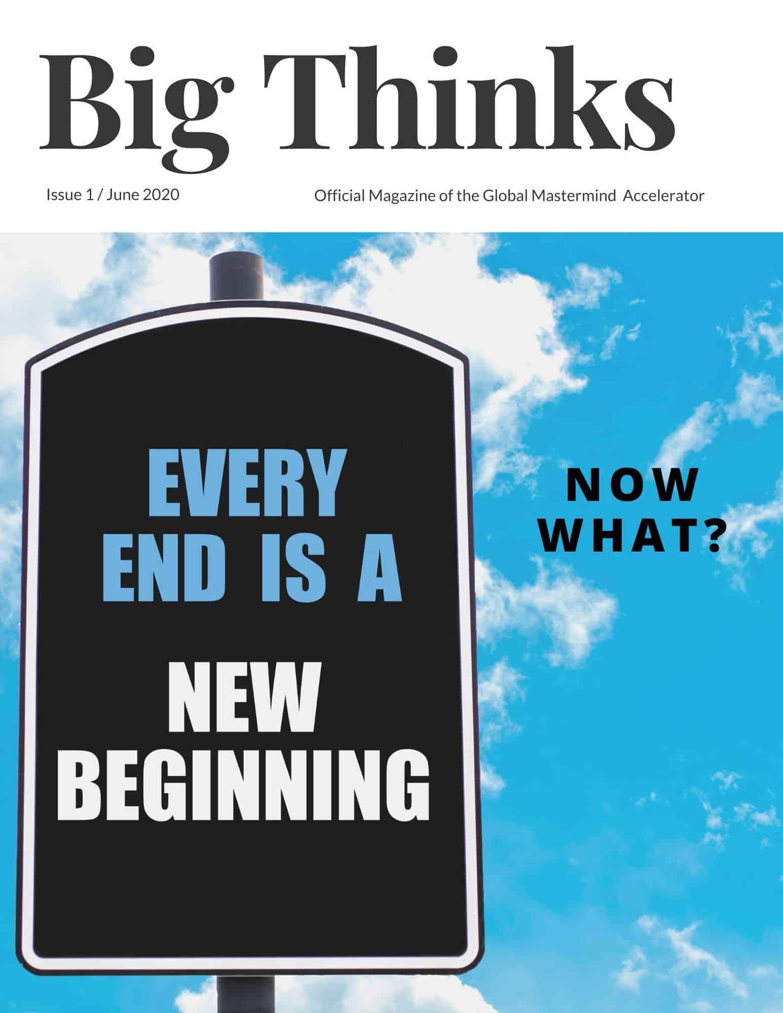 Big Thinks Magazine June 2020